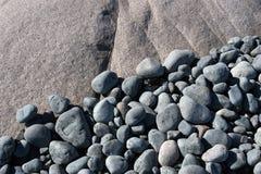 niebieskie kamienie Fotografia Royalty Free