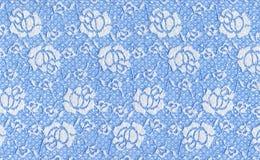 niebieskie koronki Obrazy Stock