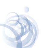 niebieskie kule Obraz Royalty Free