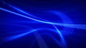 niebieskie linie Zdjęcia Royalty Free