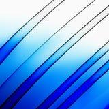 niebieskie linie lekkiej błyszczące Obrazy Stock