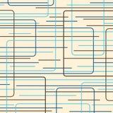 niebieskie linie retro Obrazy Stock