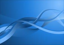 niebieskie linie tło Zdjęcia Stock