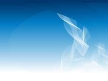 niebieskie linie wpływu gradient Obraz Stock