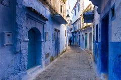 niebieskie miasto zdjęcia stock
