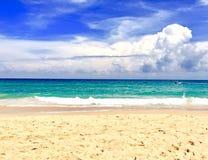 niebieskie morze Zdjęcia Stock