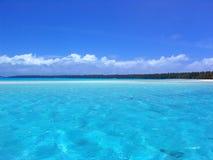 niebieskie morze Fotografia Royalty Free