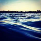 niebieskie morze Fotografia Stock