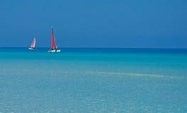 niebieskie morze Obraz Stock