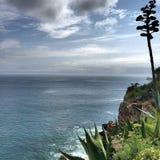 niebieskie morze obrazy stock