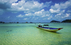 niebieskie morze Obraz Royalty Free