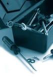 niebieskie narzędzi Zdjęcie Royalty Free