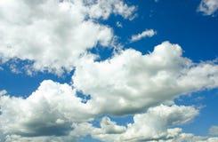Niebieskie niebo Obrazy Royalty Free