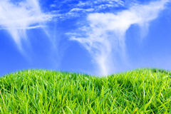 Niebieskie niebo Fotografia Stock