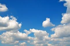 Niebieskie niebo. Obraz Stock