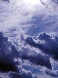 niebieskie niebo Fotografia Royalty Free