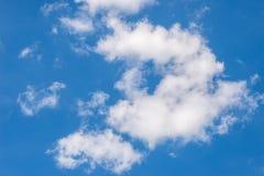 niebieskie niebo ani białe Obraz Royalty Free