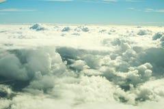 niebieskie niebo ani białe Fotografia Royalty Free