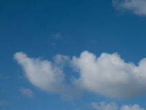 niebieskie niebo ani białe Obraz Stock