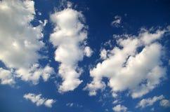 niebieskie niebo białe chmury Nieba texture/tło zdjęcie royalty free