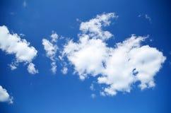 niebieskie niebo białe chmury Nieba texture/tło fotografia royalty free