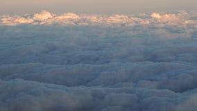 niebieskie niebo białe chmury Zdjęcie Stock
