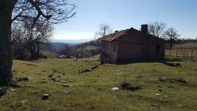 Niebieskie niebo Bułgaria Fotografia Royalty Free