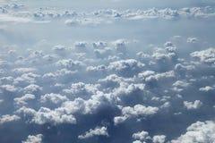 Niebieskie niebo chmury, niebieskie niebo z chmurami Zdjęcie Stock