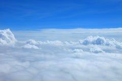 Niebieskie niebo chmury, niebieskie niebo z chmurami Fotografia Stock