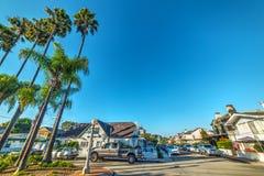 Niebieskie niebo nad balboa wyspą Fotografia Royalty Free