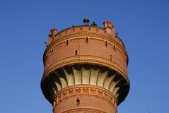 niebieskie niebo pod watertower Obraz Royalty Free