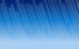 Niebieskie niebo prostokąta abstrakcjonistyczny tło Obrazy Stock