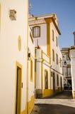 Niebieskie niebo w Evora zdjęcie royalty free