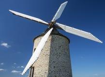 niebieskie niebo wiatraczek Zdjęcie Royalty Free