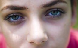 niebieskie oczy Obraz Stock