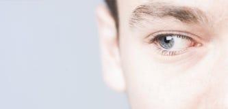niebieskie oczy Fotografia Stock