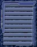 niebieskie okiennice tła Zdjęcie Stock