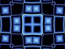 niebieskie okno abstrakcyjne Fotografia Royalty Free