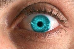 niebieskie oko Zdjęcie Stock