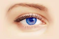niebieskie oko Zdjęcia Royalty Free