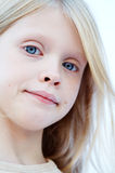 niebieskie oko dziewczyna obrazy royalty free
