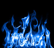 niebieskie płomienie