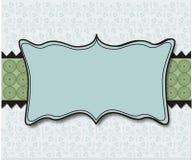 niebieskie tło zielone płytki pastelowa tapeta Royalty Ilustracja
