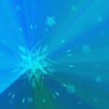 niebieskie tło gwiazdy Obraz Stock