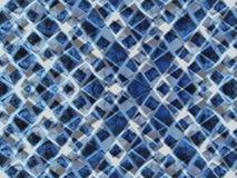 niebieskie trójkąty ilustracja wektor
