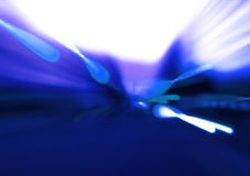 niebieskie tryskanie Obrazy Royalty Free