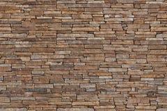 niebieskie światło sztuczne kamienna ściana Obraz Royalty Free