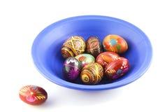 niebieskie Wielkanoc jaj Zdjęcia Royalty Free