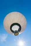 Niebieskiego Nieba gorącego powietrza balonu muzyki notatki wzoru Latać Pogodny Zdjęcie Royalty Free