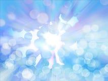 Niebieskiego nieba i okregów tło Obrazy Stock